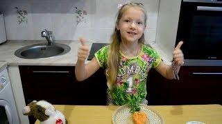 Салат Морковочка.Рецепт.Видео для детей.Дети готовят.