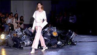 Lujin Zhang | Spring Summer 2018 Full Fashion Show | Exclusive