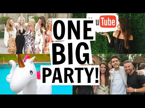 SITC AND GLEAM YOUTUBE SUMMER PARTY! | WEEKLY VLOG 31