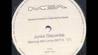 "Junior Giscombe - Morning Will Come (M.P.G. 12"") [1990]"