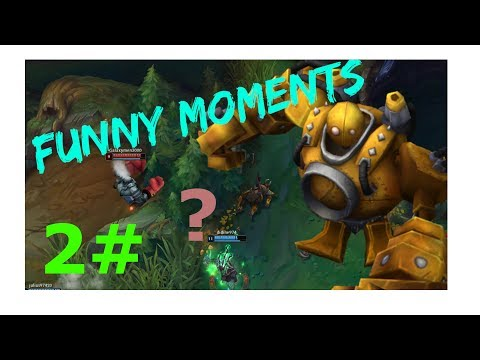 Yasuo and Blitzcrank funny moments! / League of Legends Funny Moments 2 / Bronze Duo