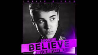 Right Here (Chopped & Screwed) - Justin Bieber (feat. Drake)