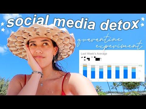a social media detox day in my life *quarantine experiment*