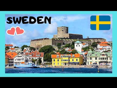 The spectacular island of Marstrand, Sweden