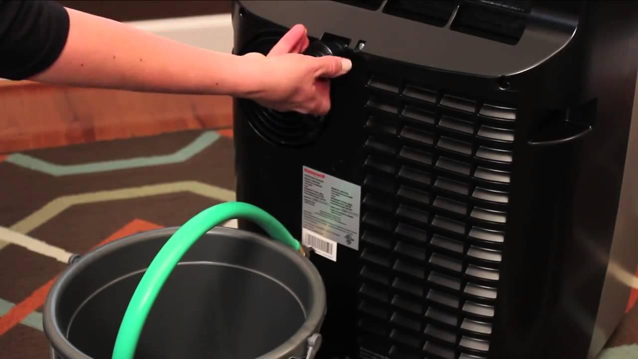 installation video honeywell mn12ces 12 000 btu single hose portable ac