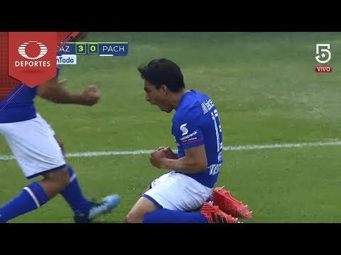 Gol de Mena | Cruz Azul 3-0 Pachuca | Clausura 2018 - Jornada 11 | Presentado por Chevrolet