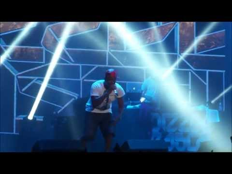 Dizzee Rascal - Bonkers [HD] live 4 7 2013 Rock Werchter Belgium