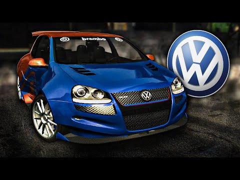 NFS Most Wanted | Volkswagen Golf R32 Junkman Tuning & Gameplay [1440p60]