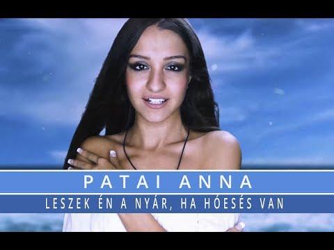 Patai Anna - Leszek én a nyár, ha hóesés van (Official Lyric Video)