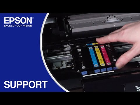Epson Expression Premium XP-830: Replacing The Ink Cartridges