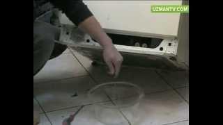 Çamaşır makinesi suyu boşaltmıyor, sorun ne olabilir?