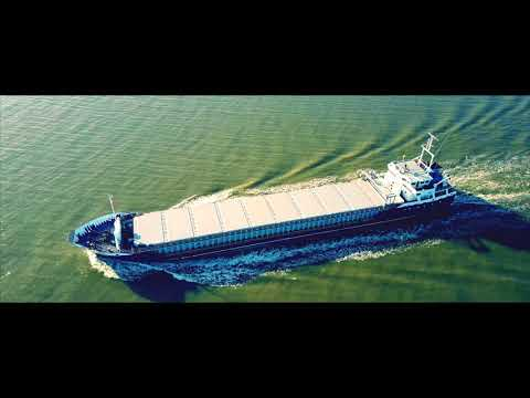 Freight Ship at Crosby Filmed With Mavic Pro