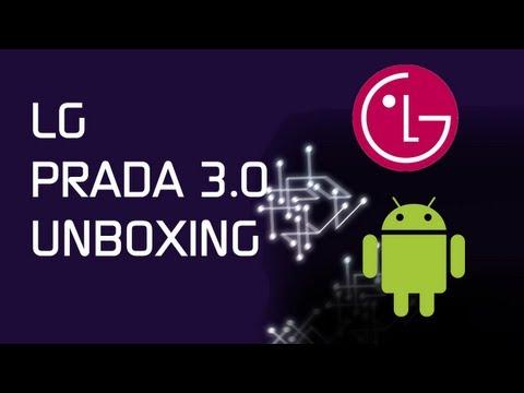 LG Prada 3.0 Unboxing