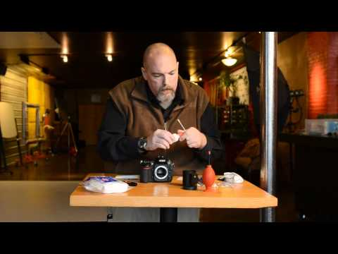 Cleaning your DSLR Sensor