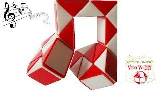 Smiggle Snake puzzle Musical Note. Rubik snake Quaver Notes. Rubik's Twist. Magic Rubik's snake 24