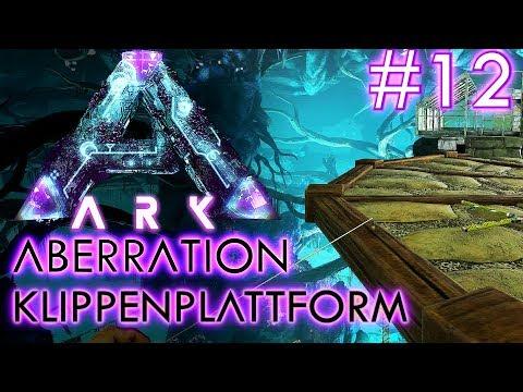 ARK ABERRATION Deutsch CLIFF PLATFORM Aberration Deutsch / German / Gameplay #12