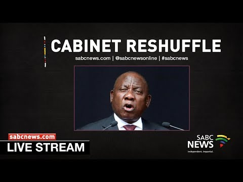 President Ramaphosa makes changes to cabinet