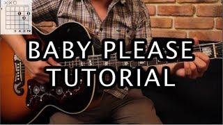 """Como tocar """"Baby Please"""" de Allison - Tutorial Guitarra (Acordes)"""