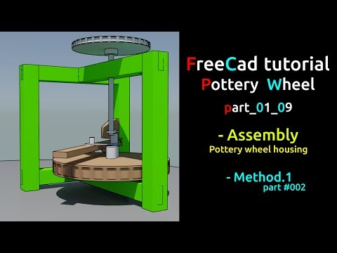Freecad tutorial - Getting started | Assembly #002 - part 01_09