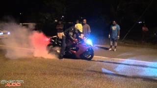 Street Testing Marsden's Busa (Horsie vs Roshan) *bikes street racing*