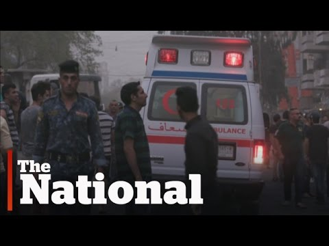 Baghdad bombings death toll rises
