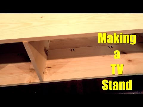 Making a TV Stand