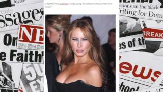 The New York Post Publishes A NUDE PHOTO Of Melania Trump On Front Page