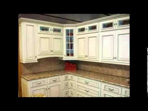 White Kitchen Cabinets For Sale - YouTube