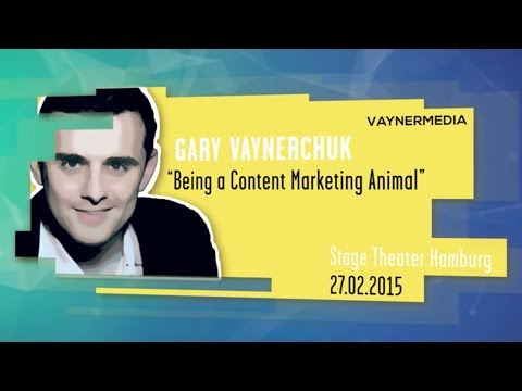 Gary Vaynerchuk | Being a content marketing animal - Online
