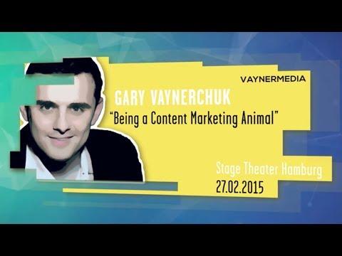 Gary Vaynerchuk | Being a content marketing animal| Online Marketing Rockstars 2015