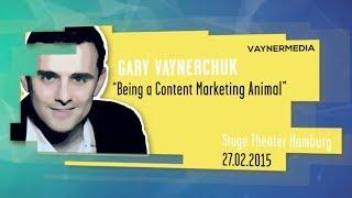 Gary Vaynerchuk | Being a content marketing animal- Online Marketing Rockstars Keynote | OMR15