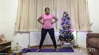 09-12-2020 - Hatha Yoga With Bhavnaben Jogi