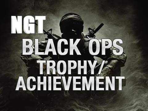 Unconventional Warfare Black Ops Trophy / Achievement Guide