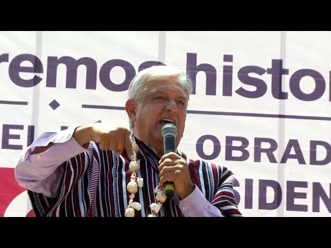 Mexico's Leftist President-elect AMLO Promises Sweeping Changes on Corruption, Poverty, Drug War