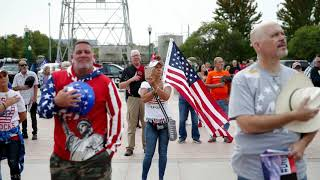 Oklahomans rally in support of President Trump following COVID-19 diagnosis