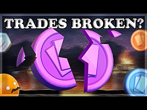 The New Trade System Clutters Chat | Clash Royale 🍊