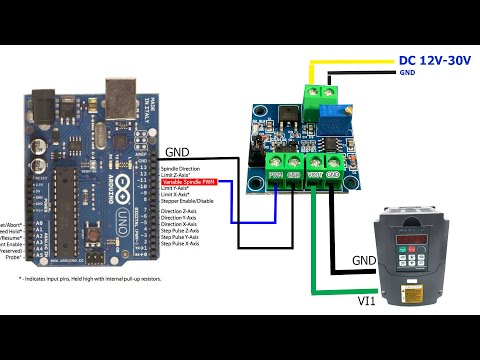 How To Control VFD YL620 Using Arduino With 0-10V PWM Module - ICStation -