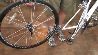 How to Remove the Back Wheel on a Road Bike