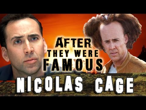 NIC CAGE - AFTER They Were Famous