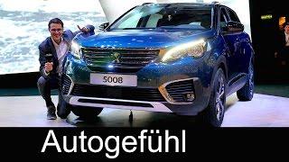 Peugeot 5008 vs Peugeot 3008 comparison REVIEW SUV feature all-new neu 2018