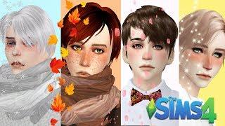 cAS Времена Года (The Sims 4 Создание персонажа)