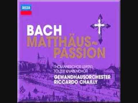 Bach St Matthew Passion Chailly, Gewandhausorchester, Thomanerchor Leipzig, Tolzer Knabenchor