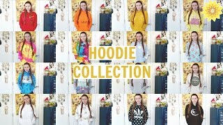 MY HOODIE COLLECTION | MEGHAN HUGHES