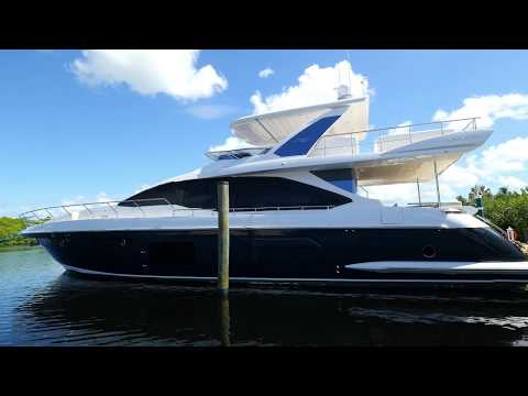 2017 Azimut 72 Flybridge Boat For Sale At MarineMax Fort Myers