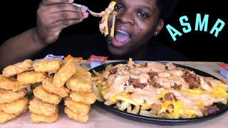 ASMR MCDONALDS IN-N-OUT ANIMAL STYLE FRIES & CHICKEN NUGGETS (MCNUGGETS) | CALIENTAY ASMR MUKBANG