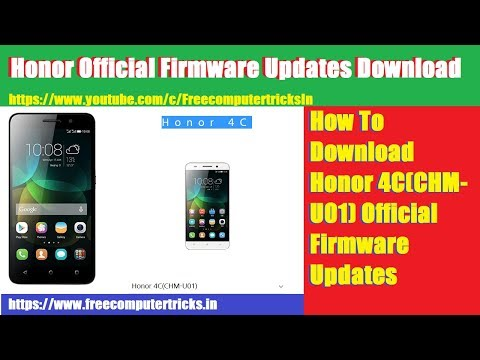 how-to-download-honor-4c-(chm-u01)-official-firmware-updates