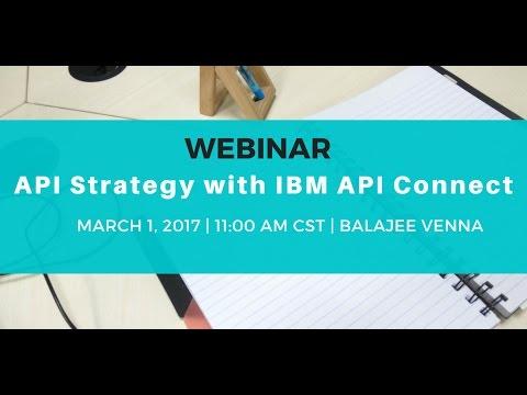 API Strategy with IBM API Connect