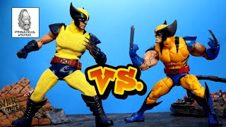 Marvel Legends VS Mezco: Tiger Stripe Wolverine (Action Figure Comparison)