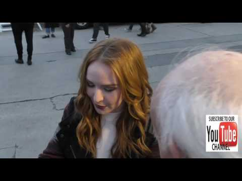 Camryn Grimes talks about her Christmas plans on Hollywood Blvd at the 85th Annual Hollywood Christm