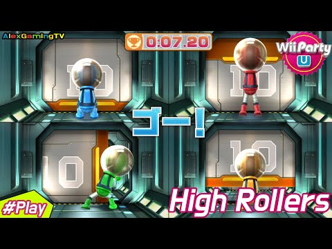 Wii Party U - High Rollers (Expert CPU, Jp Sub, #75) Player Mary